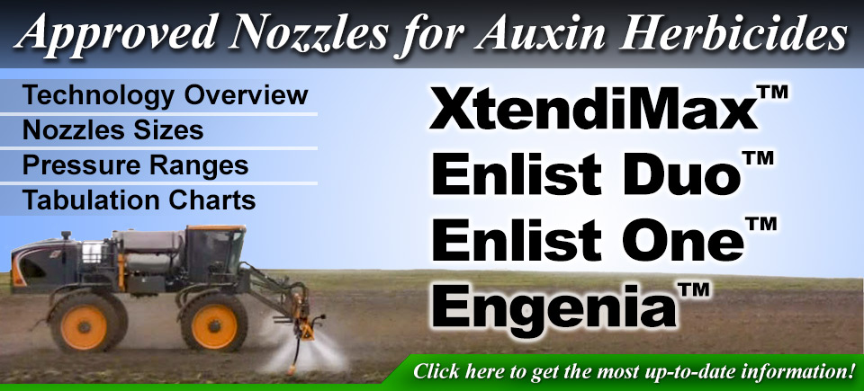 "Approved Nozzles for XtendiMaxâ""¢, Enlist Duoâ""¢, Enlist Oneâ""¢, and Enginiaâ""¢"