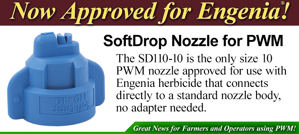 Sprayer Nozzles for Agriculture and Turf Spraying Systems